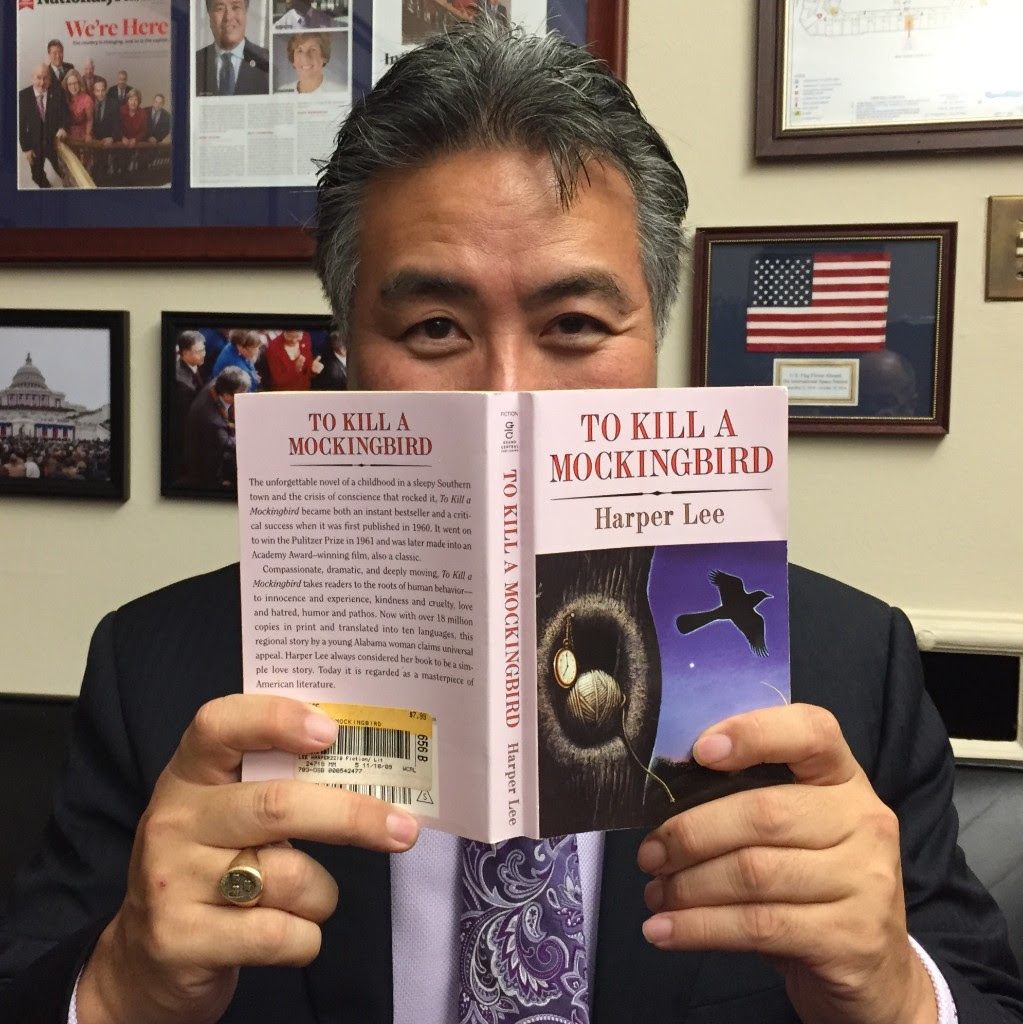 Former English teacher and current California Congressman Mark Takano