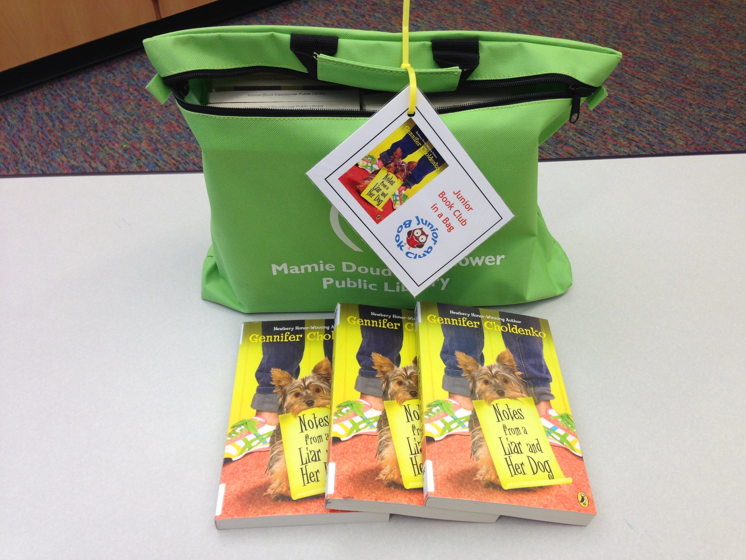 Broomfield, Colorado offers a Book Club in a Bag