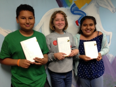 Diego, Callie, and Valeria are 5th graders at Belvedere Elementary School in Falls Church, Virginia