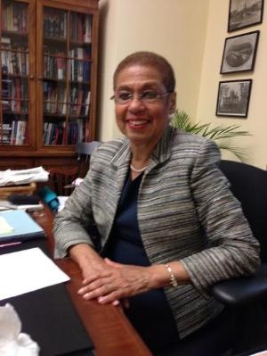 Congresswoman  Eleanor Holmes Norton