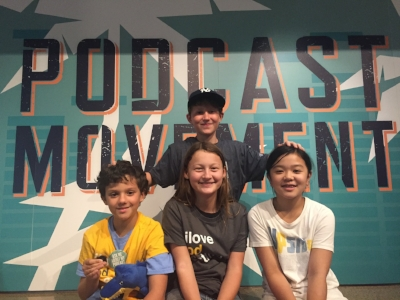 Book Club for Kids readers at Podcast Movement