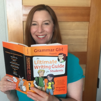 Mignon Fogarty, star of the  Grammar Girl  podcast