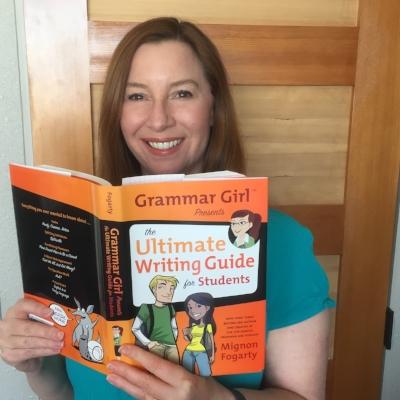 Mignon Fogarty, star of the  Grammar Girl  podcast