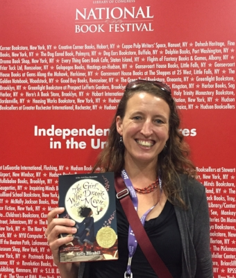 Writer  Kelly Barnhill  (photo courtesy of startribune.com)