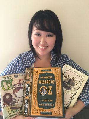 "Celebrity reader, actress   Julia Cho  from ""The Lizzie Bennet Diaries"""