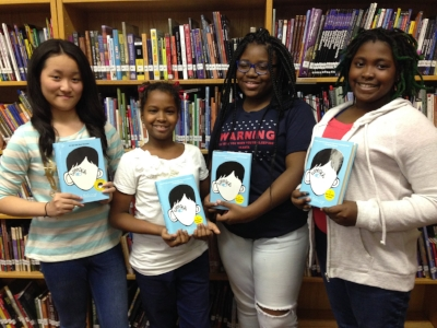 Joey, Najae, Anaya, and Dakota are 7th graders at DC's Jefferson Academy