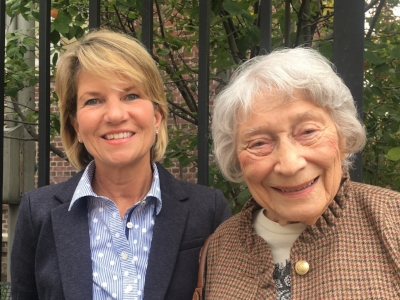 Betty Smith's granddaughter and daughter Nancy Smith Pfeiffer