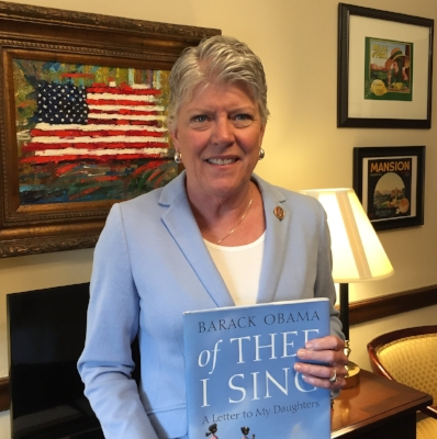 Our celebrity reader is  Congresswoman Julia Brownley