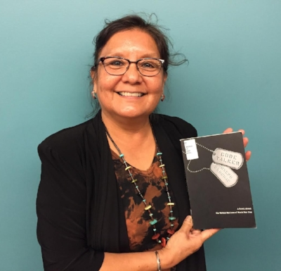 Elayne Silversmith, librarian at the  National Museum of the American Indian