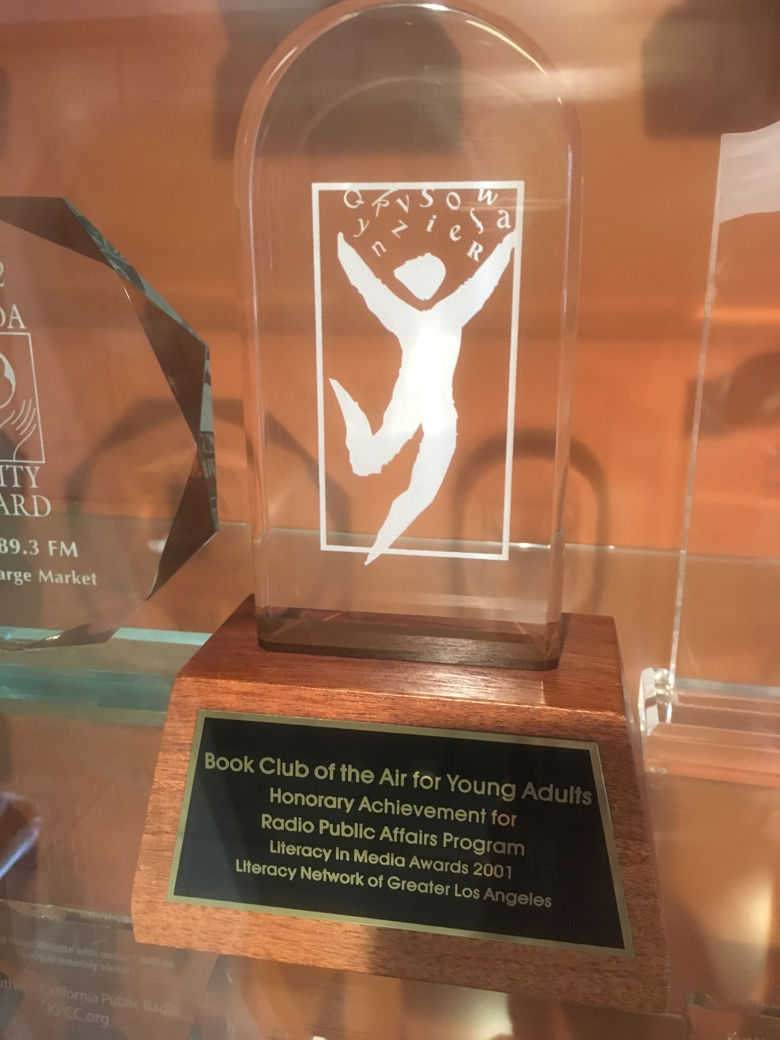 Literacy in Media Award - Literacy Network of Greater Los Angeles