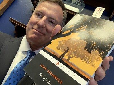 Celebrity Reader Congressman  Scott Peters  of San Diego