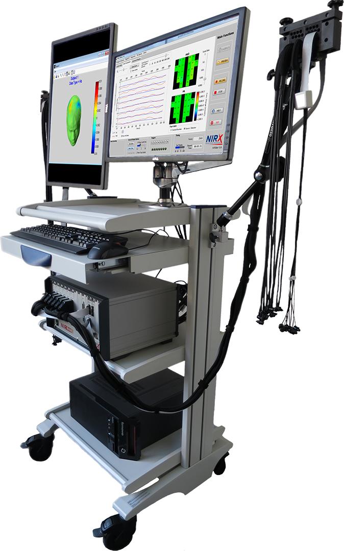 NIRScout multi-modal NIRS neuroimaging system from NIRx
