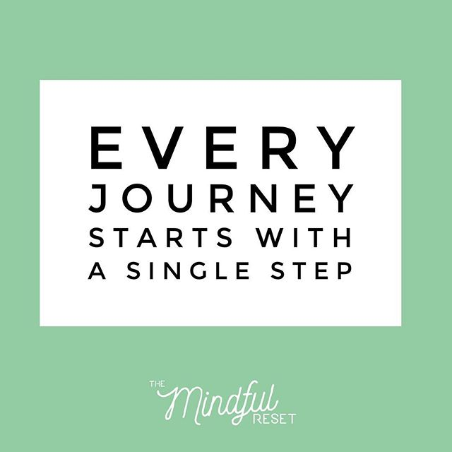 Any journey or task no matter how big begins with one small step. Nothing happens overnight, big changes come from the adding up of lots of small changes over time. A task may seem impossible, but break it down into bite size chunks and it becomes manageable.  #mindful #meditation #mindfulness #motivation #mindfulnessquote