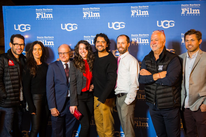 CHARGED Film Team! (from left to right)Doug Ellin, Teri Weinberg, Dennis Aig, Jennifer Jane, Eduardo Garcia, Phillip Baribeau, Peter Hochfelder, Scott Ballew