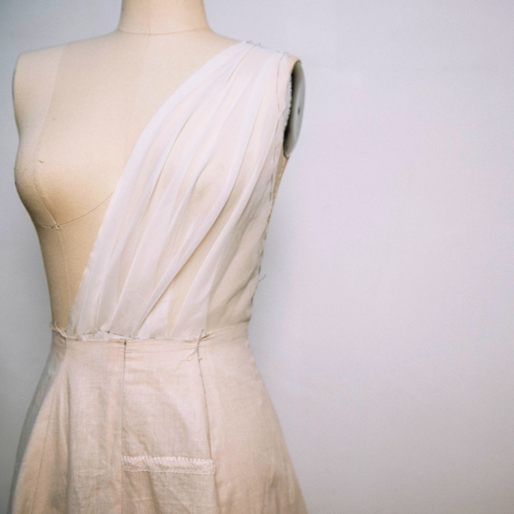 Sewing 3: Draping/ Cocktail Dress Construction