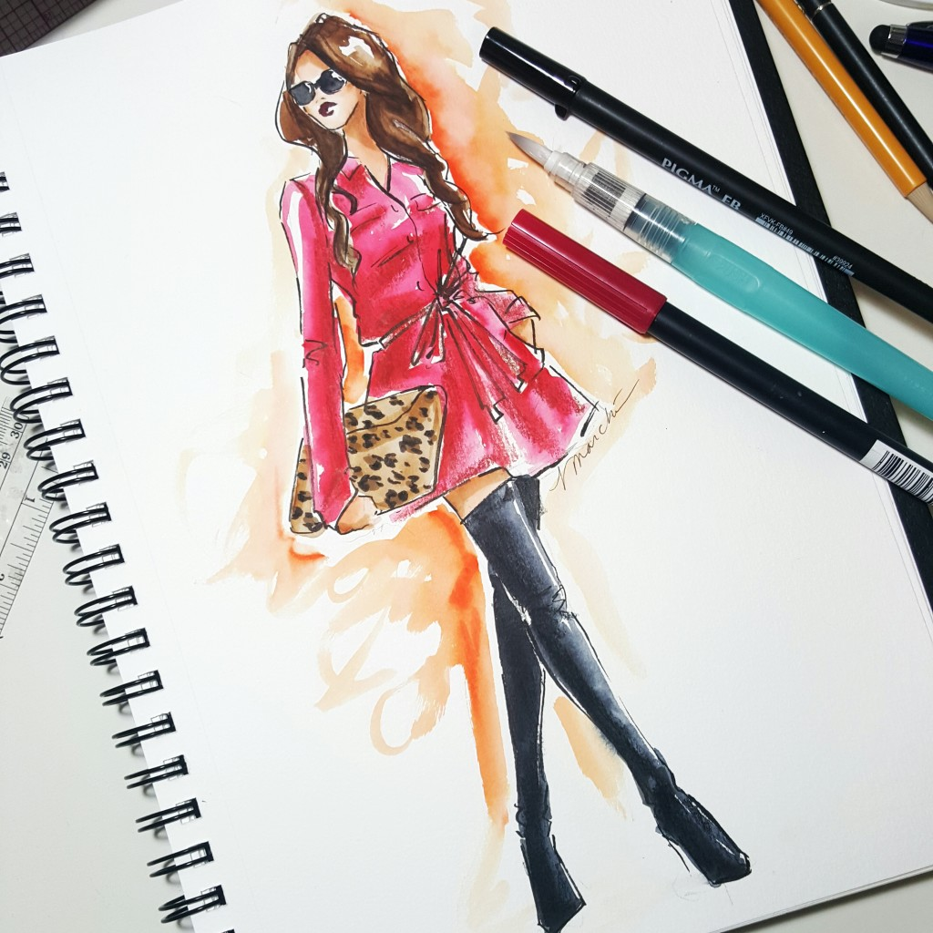 Fashion Illustration 2: Fabric Rendering/ Color