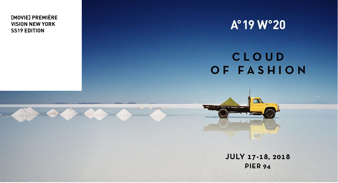 July 17-18 @Pier 94 Premier Vision Fabric & Trim Trade Show in NYC. The go-to fabric show for at-the-moment trends and colors in fabric and trim.  Register  Here.