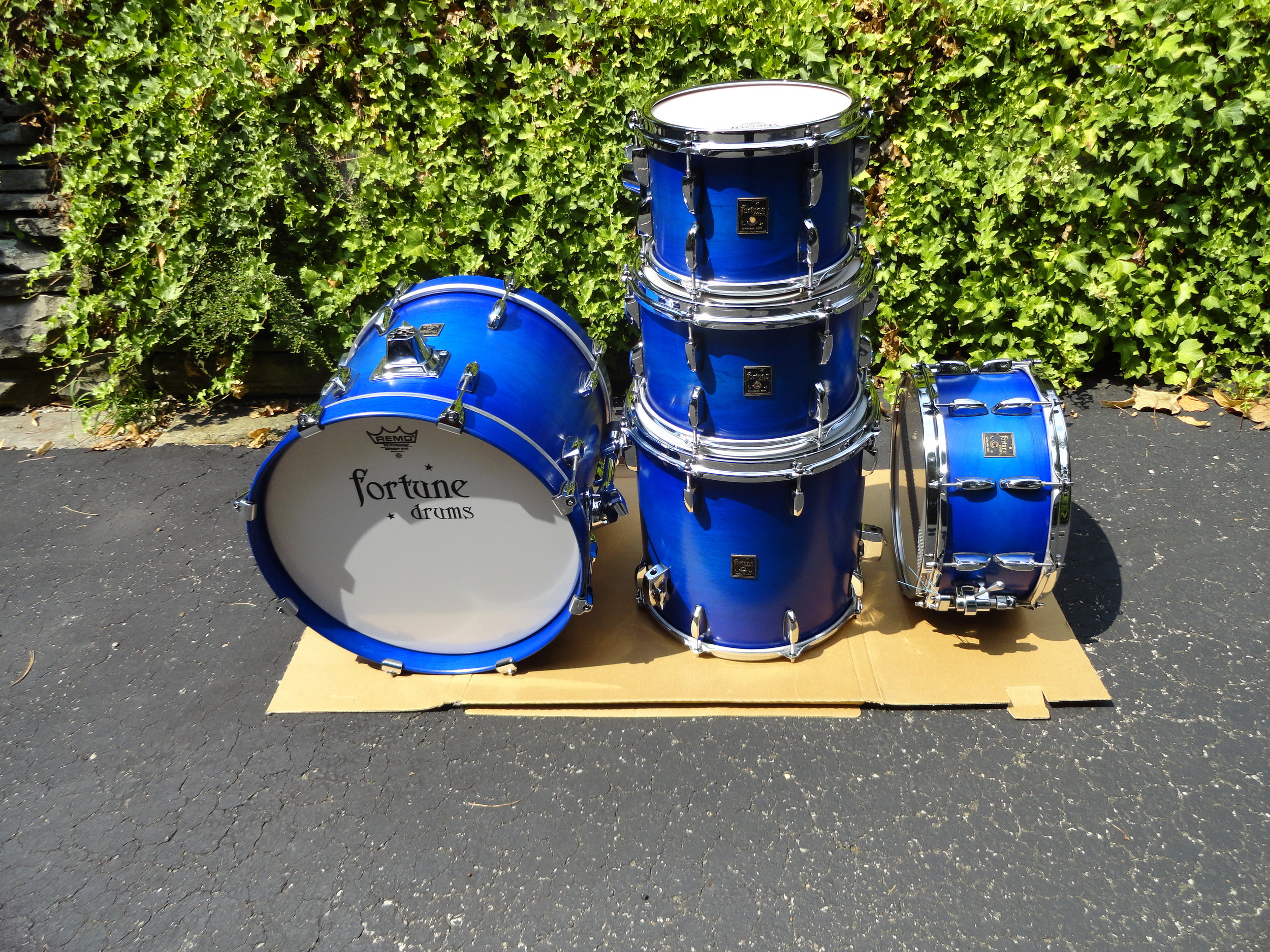 Ricky Exton's Cobalt Blue set