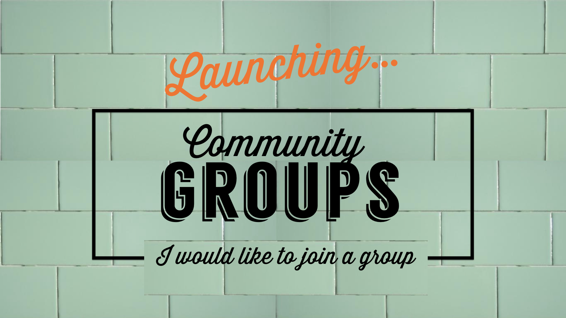 Learn more about Community Groups