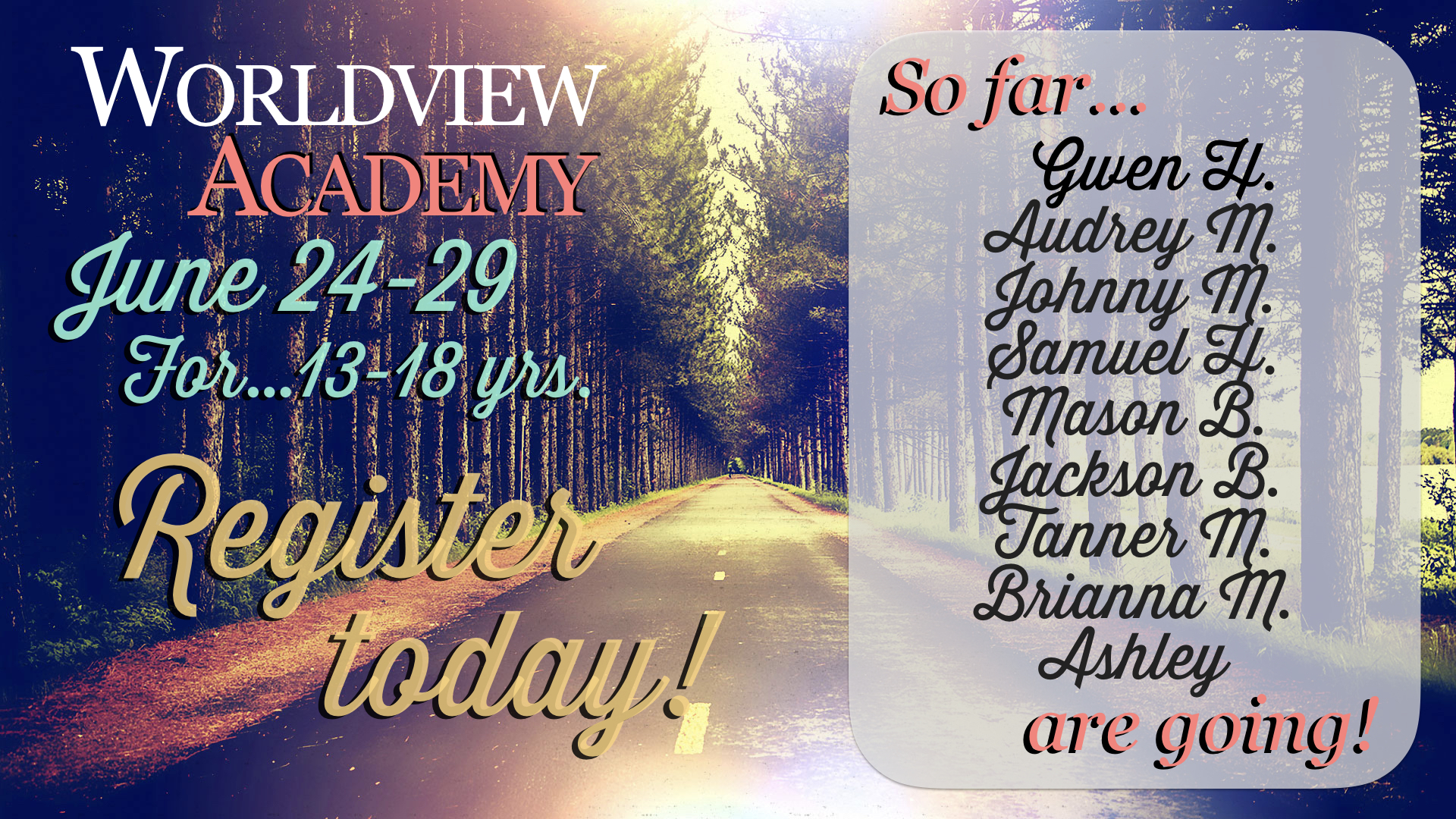 This camp is one of the best! See the webpage today!