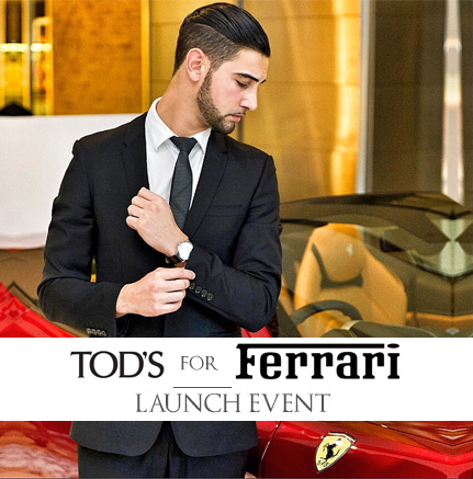 The Ferrari California T & Tod's For Ferrari Showcase VIP Shopping Night