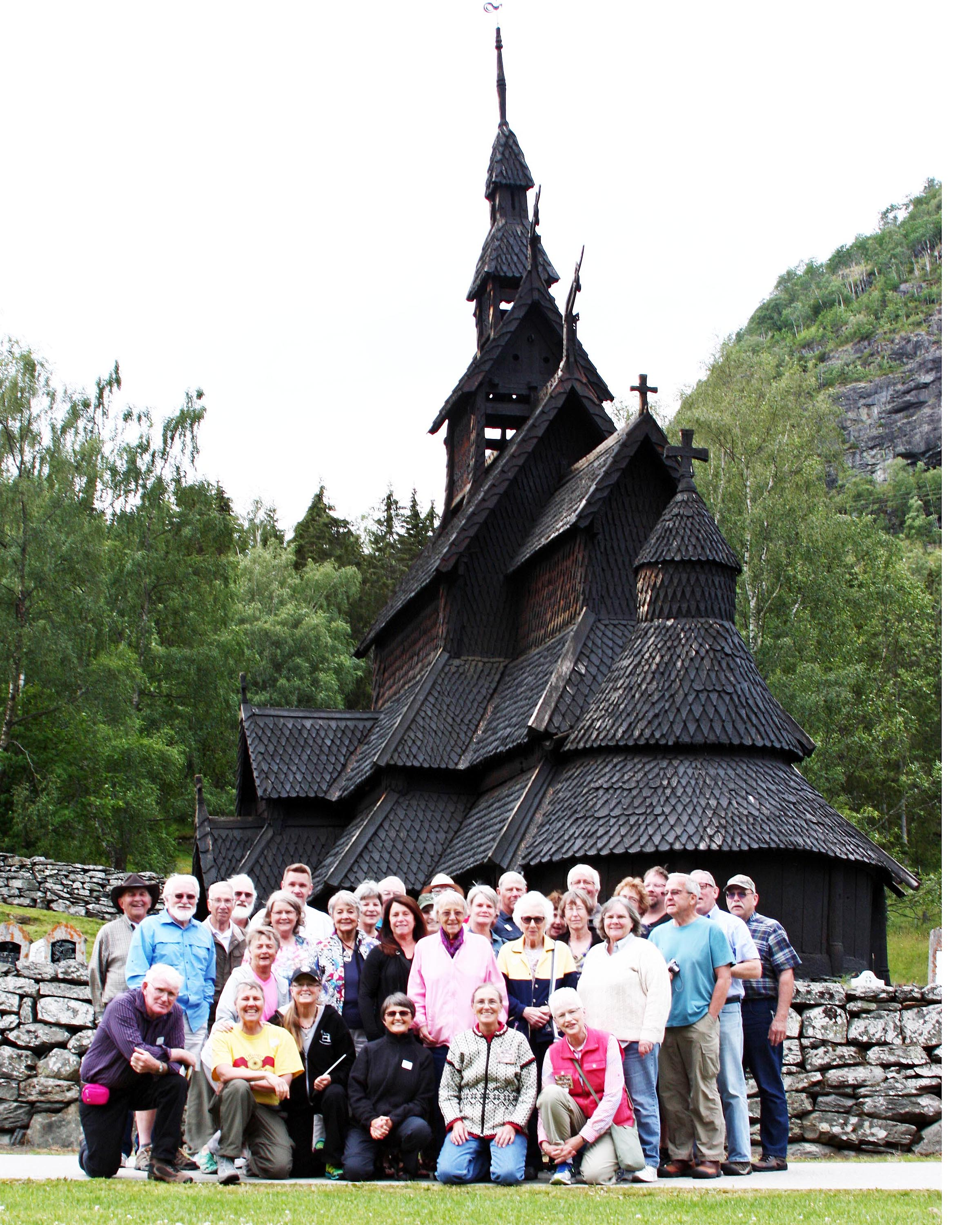 Odden's Rural Life Tour to Norway in August 2015 was a huge success!