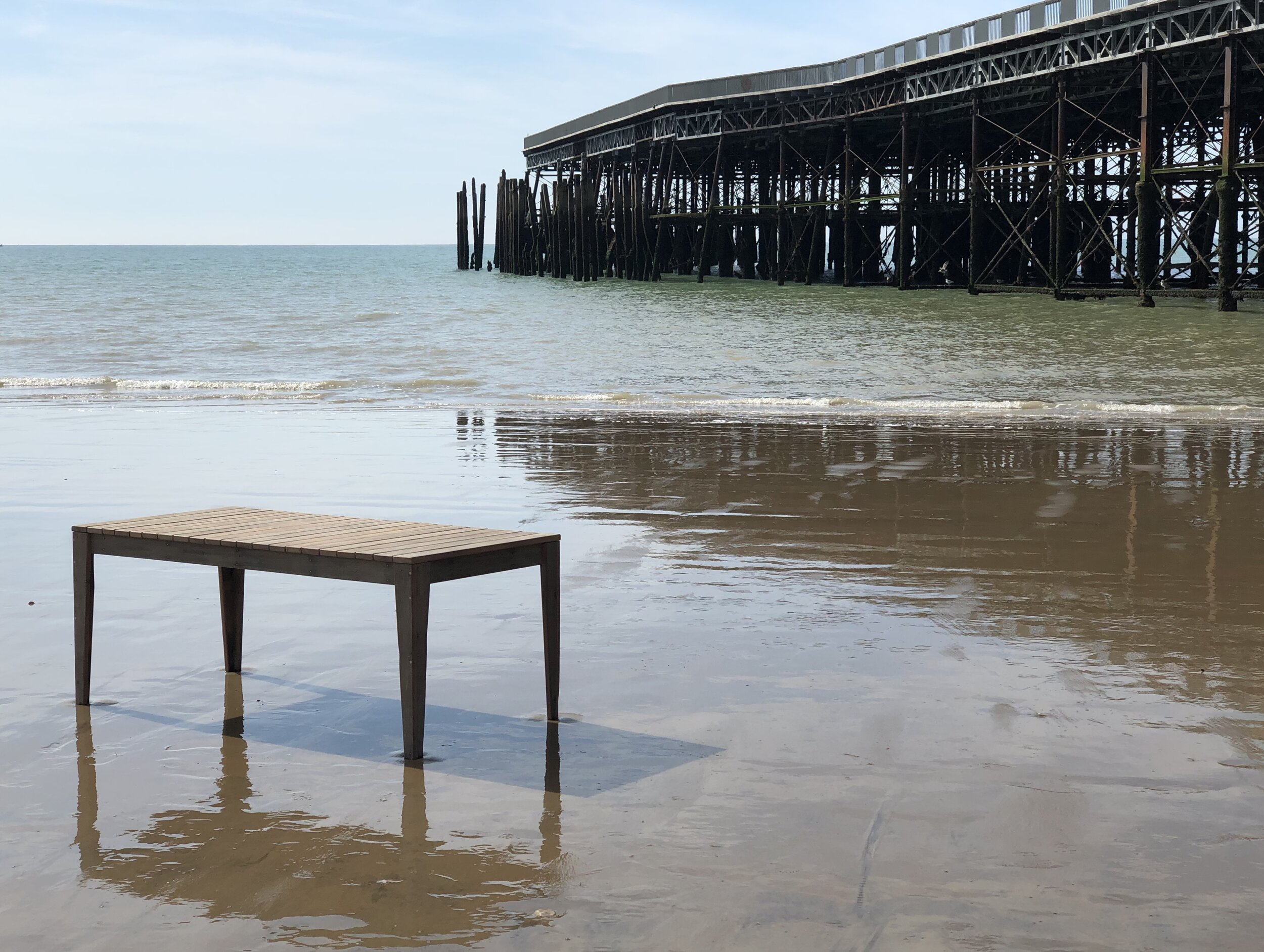 OUR QUALITY PROMISE - We pride ourselves on producing quality furniture that is hand-made in our Hastings workshop using interesting reclaimed materials such as timber from the original Hastings Pier.