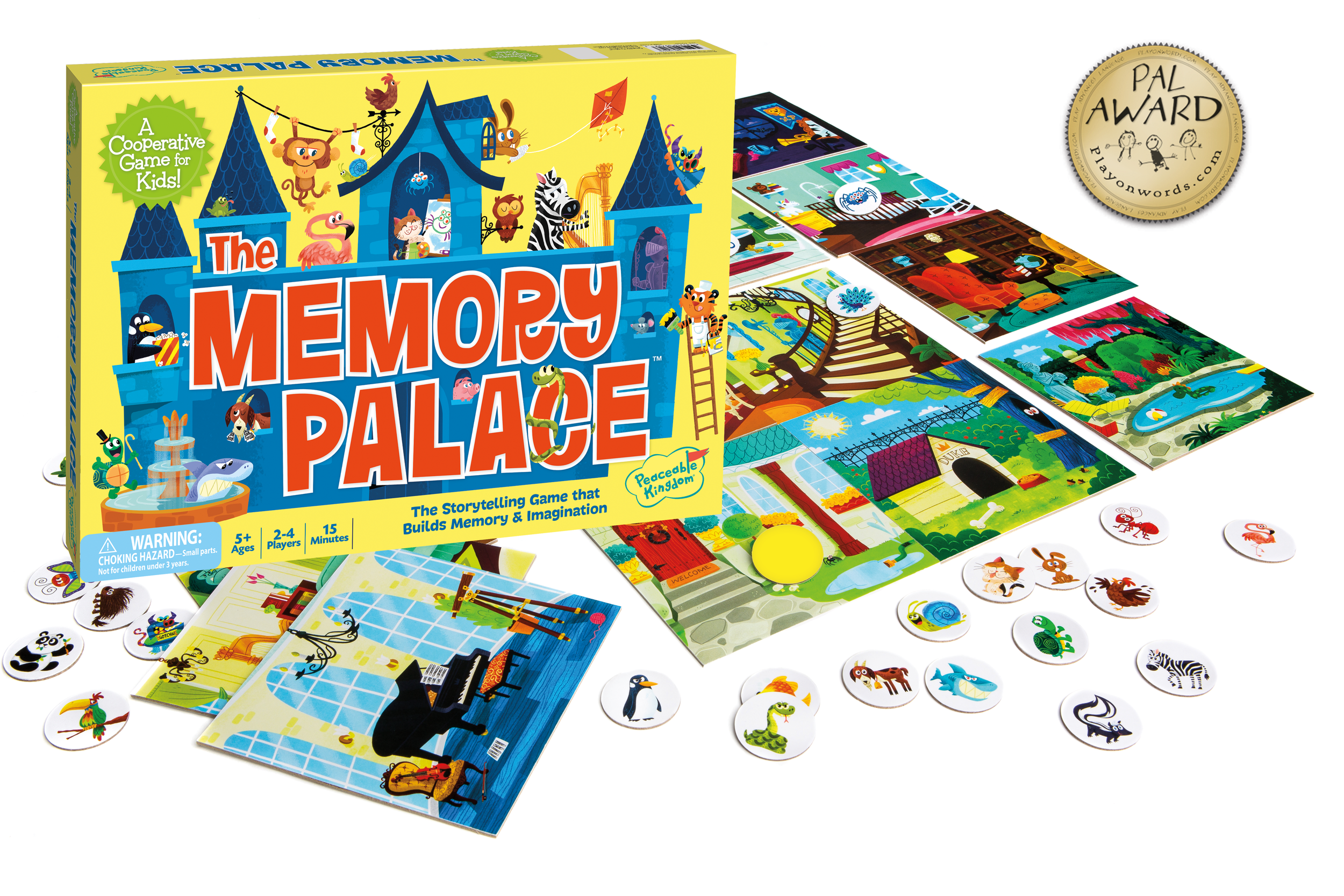 Peaceable Kingdom - Memory Palace Game