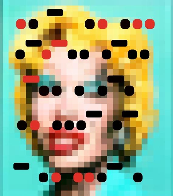 It's All Derivative, LaChapelle's Amanda as Marilyn