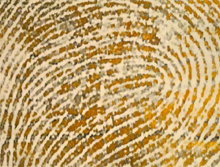 Thumb Print of the Artist, Right