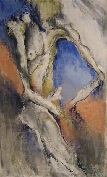 Dessicated Seated Nude