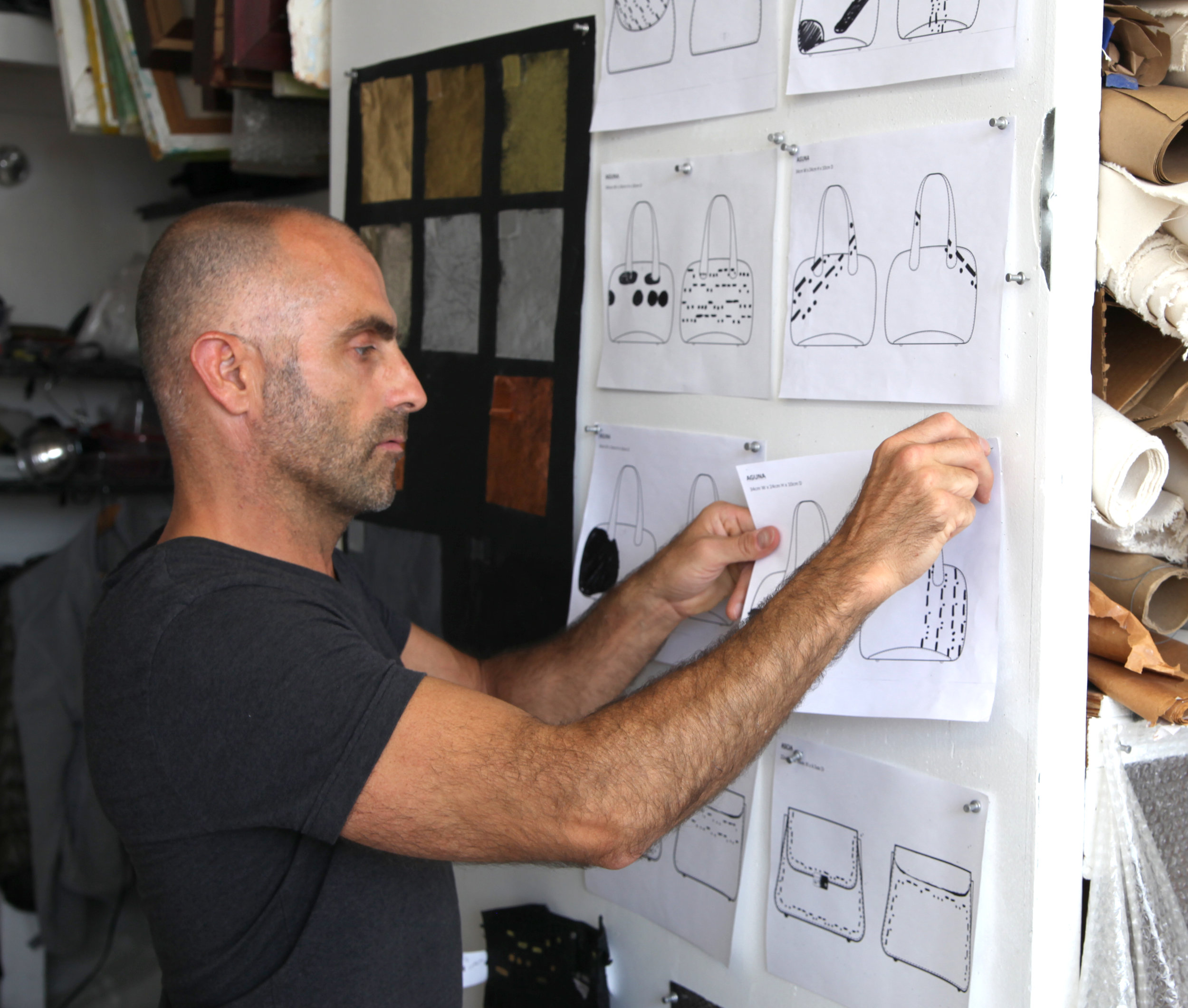 BILL PINNING UP DRAWINGS copy 2.jpg