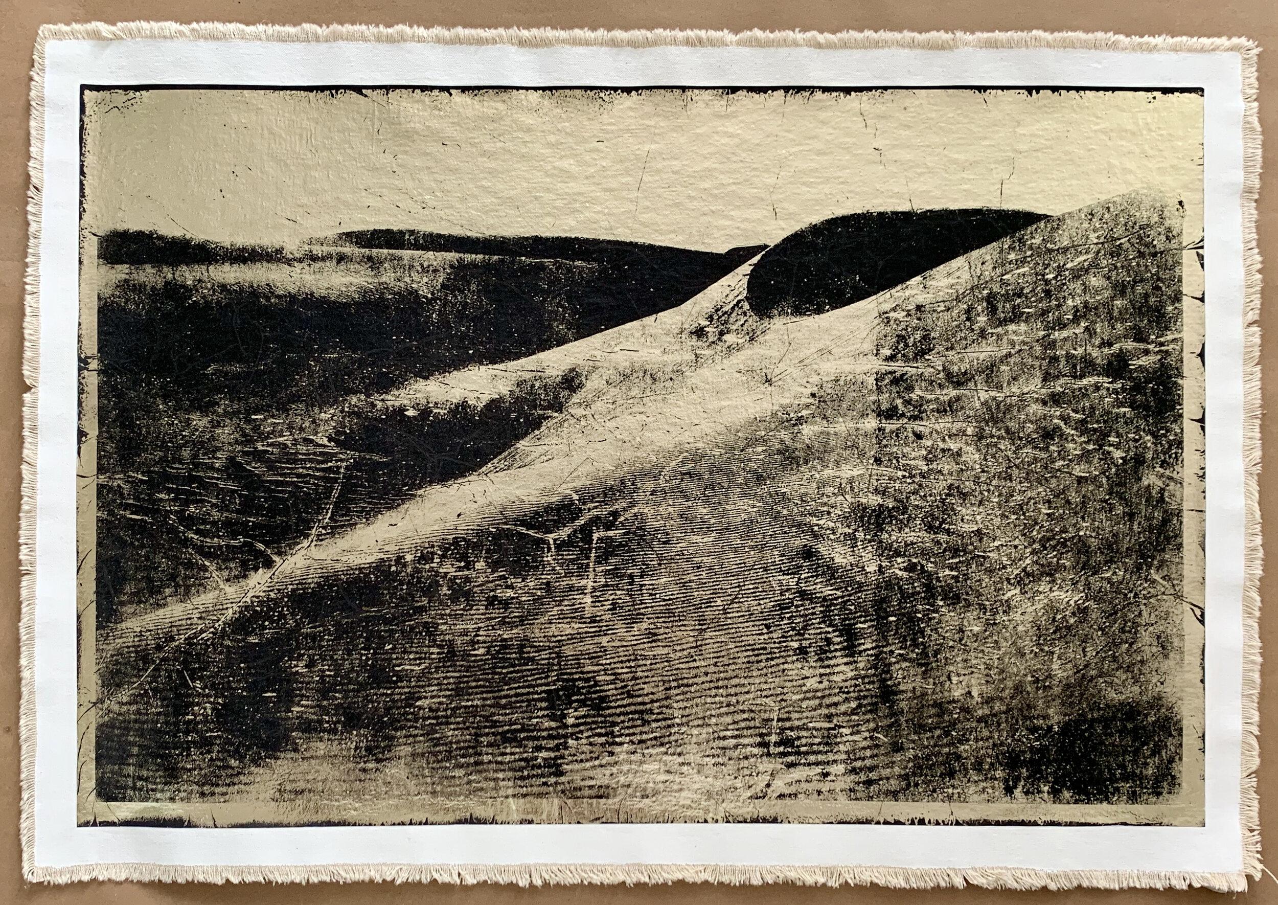 Egyptian Dunes III, negative version