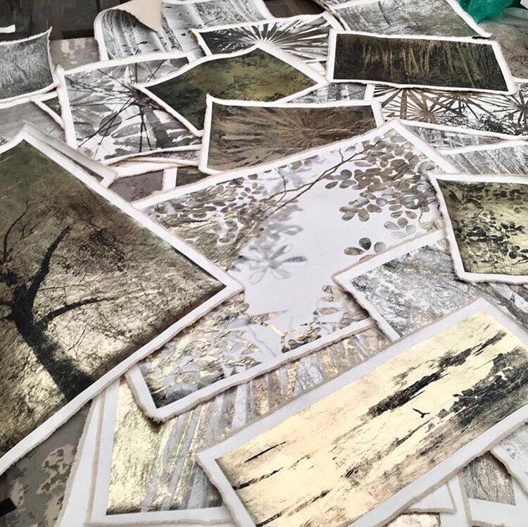 Various works (installation, Paris exhibition 2017)