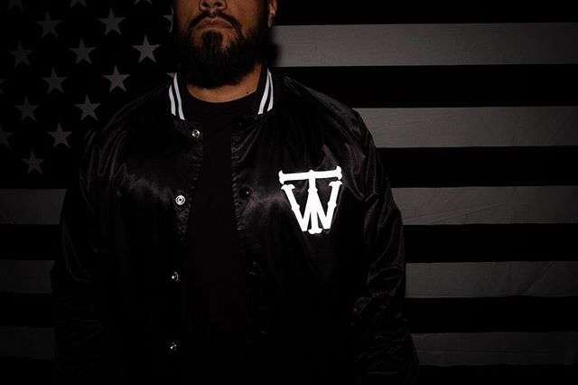 G I V E A W A Y Last chance to enter our mystery box giveaway filled with some merch and artist autographed items.  For a chance to win: 1. FOLLOW @TheWayBrand 2. LIKE THIS POST 2. TAG 3 FRIENDS BELOW . The Violent baseball jacket is printed with a custom reflective that illuminates when light hits. . And from the days of John the Baptist until now the kingdom of heaven suffers violence, and the violent take it by force. Matthew 11:12