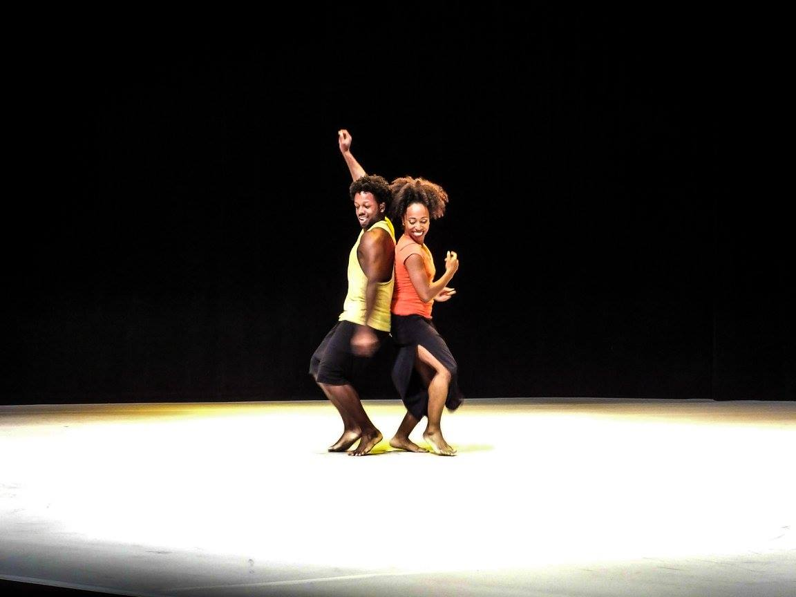 Nigel and Chanel dancing in BDP 2015 dance showcase