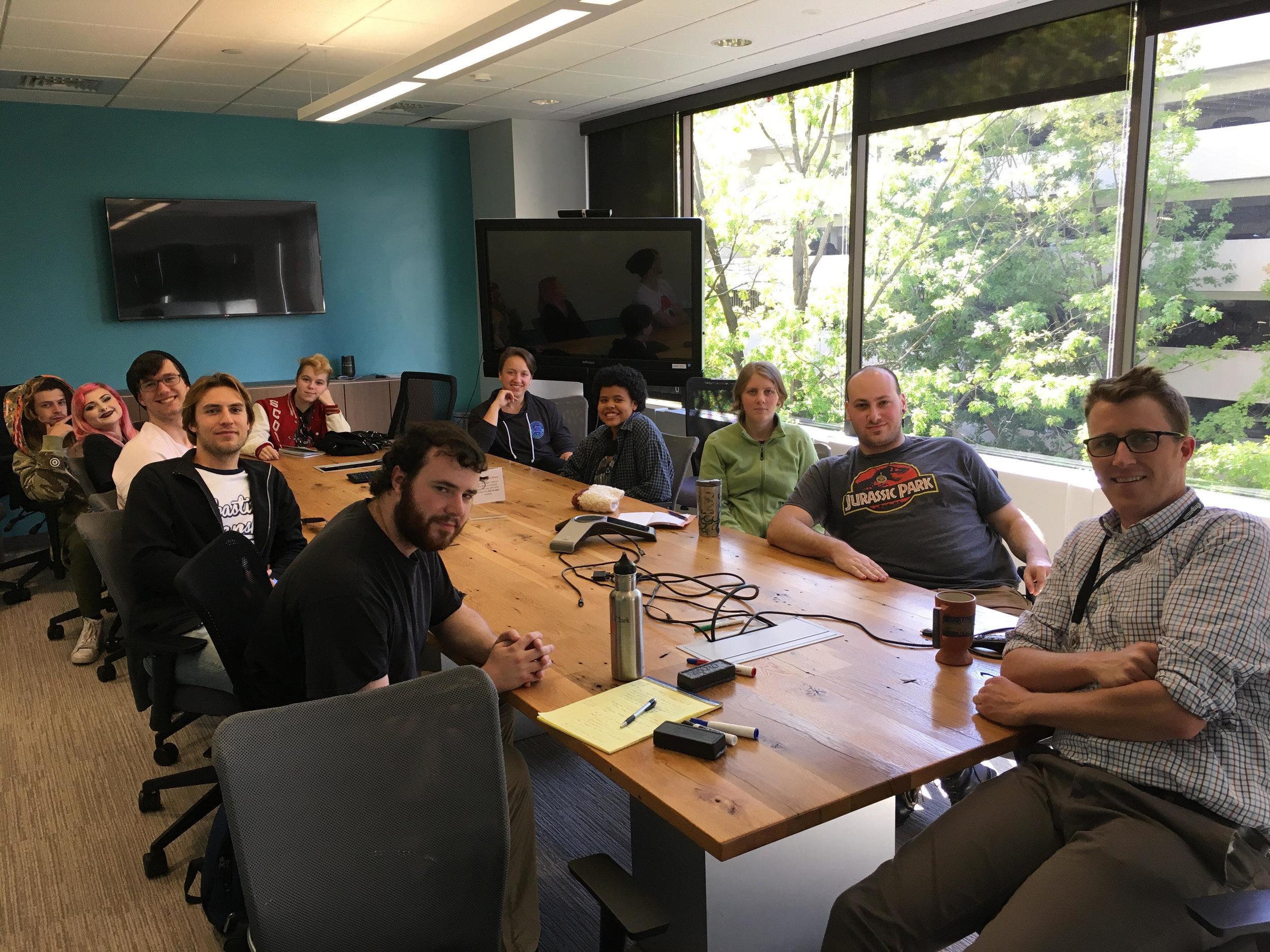 Cohort 2 talks news with reporter Andrew Theen