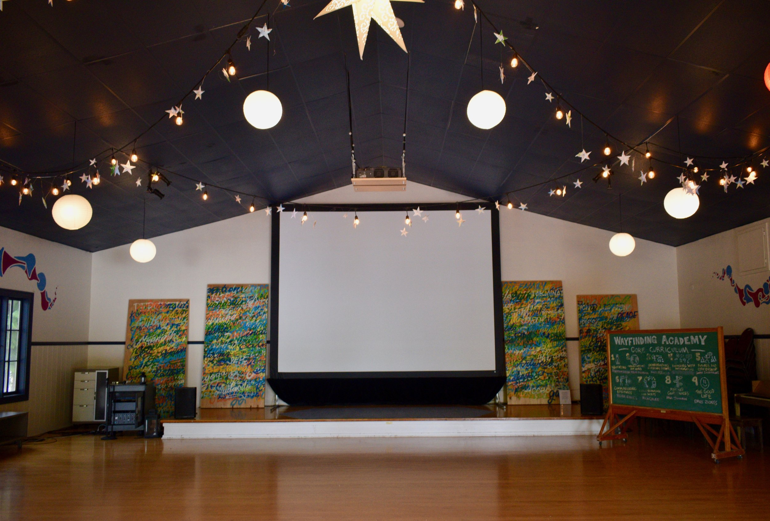 Navigation Hall - our biggest event space