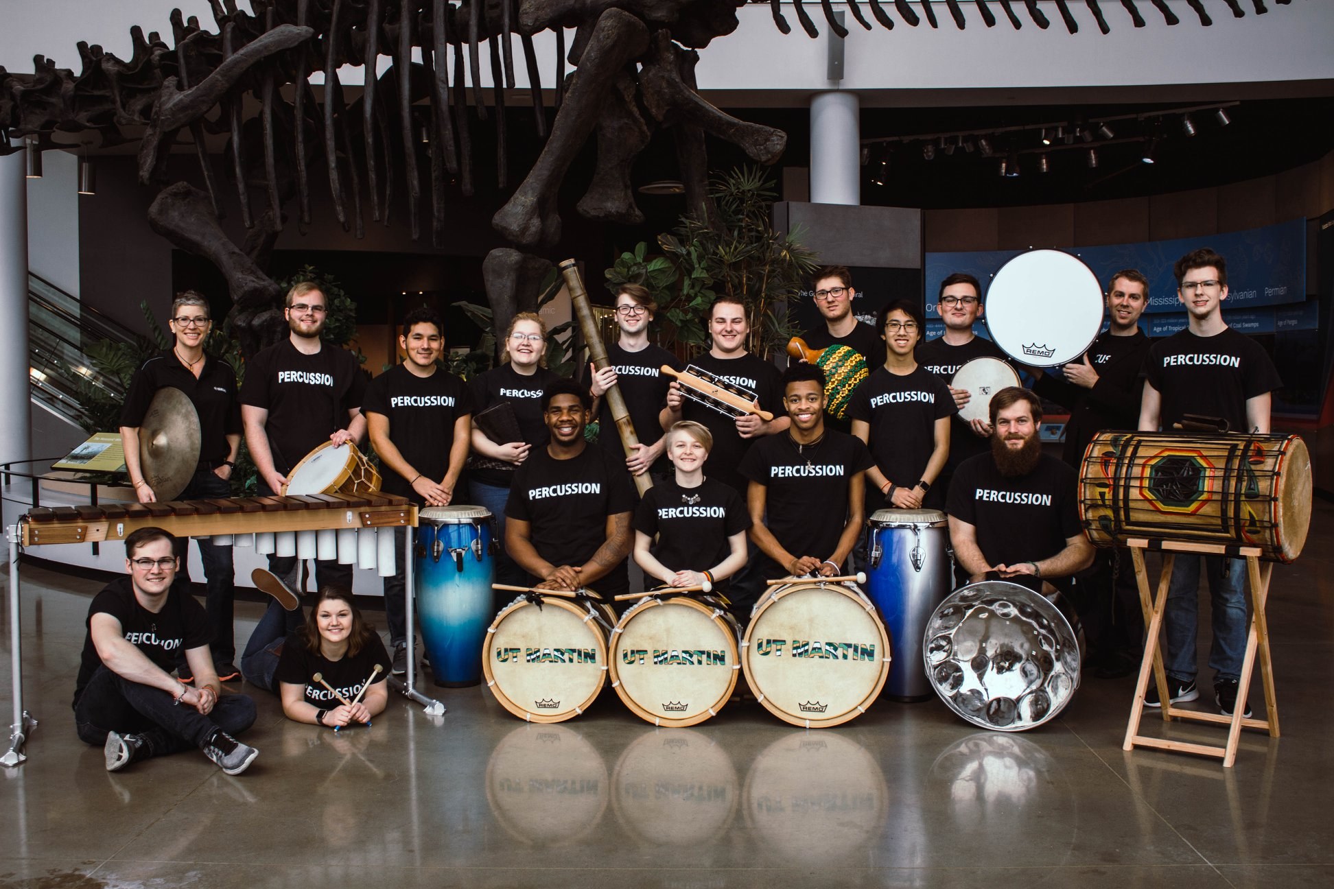 UTM Percussion Studio at Discovery Park of America - '18