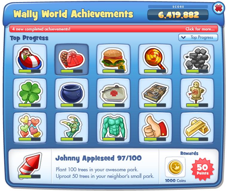 Achievements UI • Overview