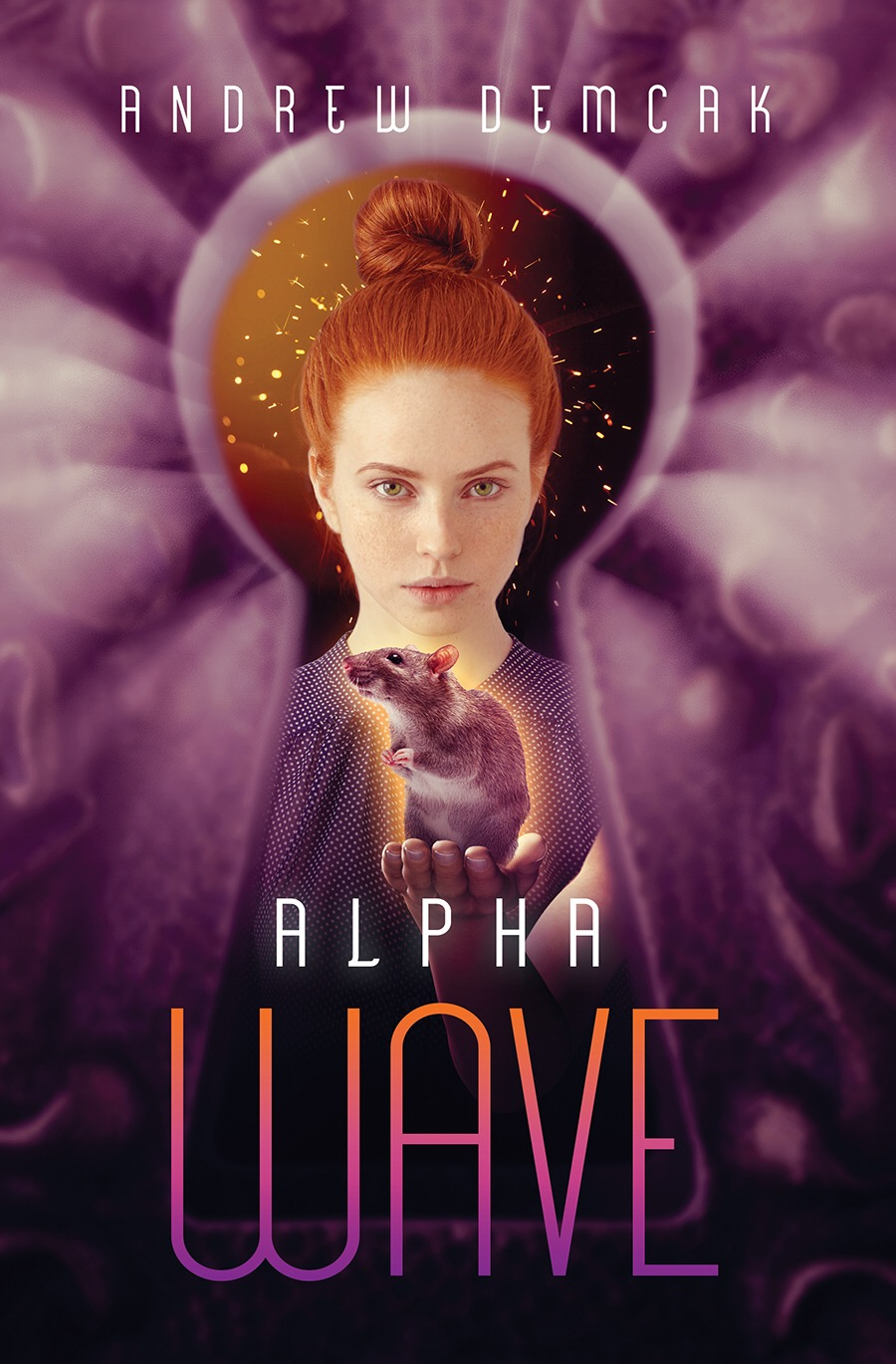 "ALPHA WAVE , May, 2018:       With so many hunting her for the power she possesses,  Kiera Fairchild  needs some allies of her own.  After escaping from both the Paragon Academy and a ring of slave traders, Kiera is searching for answers. Who is the mysterious alien being trying to contact her in her dreams, and why is he being held captive? Kiera learns she isn't alone.  James, Lumen, and Paul  are teens with powers like her own—and all of them are in danger. They've been sent by their alien father to look for  Kiera . The kidnapped alien needs their help, and the unscrupulous  Dr. Albion  has a plan to rob them of their powers and destroy them. In the battle that awaits them, standing together is their only chance.    The sequel to  A LITTLE BIT LANGSTON ,  ALPHA WAVE , will be arriving from Harmony Ink Press in Summer 2018.  Here is a sample of the first chapter:     1 .   Stop!  Keira tried to scream through the rubber gag, but no sound came out.  The three doctors surrounded her, each wearing a plastic facemask and a contamination suit. They reminded her of industrial robots .   Keira was strapped to a cold examination table, her wrists and ankles in metal restraints.   She turned her head from side to side, trying to get a glimpse of the operating room, but the blinding pool of surgical light cast such a small circumference. The rest of the room receded into total darkness. The first doctor stepped toward the table, a silver scalpel steadied in his right hand.   She could see the other doctors watching, unmoving, at the edge of the swallowing blackness. Another person stepped from behind them.   Someone is filming me. Now he's coming closer. I see my reflection in his shiny lens—but something's wrong. It's not my face; it's an alien's face—those huge dark eyes—that looks back at me. Who am I? Where am I?   Then the sharp blade entered Keira's arm above the elbow joint. A searing pain shot up her exposed bicep….   Sleeper, awake!      Keira Fairchild woke up in a blistering sweat, bewildered, her breathing labored, almost gasping. She turned, wiping her damp forehead, and looked out the dirt-streaked window at the green and red lights of the oil barges drifting slowly into San Pedro Harbor on the outskirts of Los Angeles. She looked at the clock, 3:15 a.m.  She opened the window a crack to let in the early-morning air. It was cool and calming. The metallic sounds of the distant buoy bells rang out from across the waters.  She wiped off her upper lip with the back of her hand and tried to forget the nightmare.   That's the third time this week. The same dream: I'm on the table and they're cutting me open with that knife. It's like I'm there, like it's really happening to me! But it's not me; I'm an alien in the dream. What does it mean? Totally weird!   Keira rolled over and turned on her lamp. From her bedside table, she picked up a smooth stone box with two golden suns etched on top. It fit neatly into the palm of her hand. She traced the outline of the blazing suns with her fingertip. Each was inlaid in real gold and had six flame points radiating outward. The stone box belonged to her birth mother; that's what the social workers told her. But none of them said if her mother, or her father for that matter, was alive or dead. Keira had entered the foster care system as a small child. Ever since she could remember, she'd carried the box everywhere with her. It comforted her and promised a connection to her real family, but it was as much a mystery. When Keira shook it, something inside rattled. But to this day, she hadn't figured out what it was; she still couldn't get the box to open. There were no seams or visible hinges, not even a keyhole. All she could get out of the stone box was the tantalizing sound. A sound she knew held the secret to her past and hopefully her parents.   Someday I'll figure out how to open this damn thing up. I'm going to find out who my real parents are, too, and then I'll go find them. Someday.   Keira put the box back down on the table and picked up her hairbrush. The natural fibers felt good against her scalp as it separated her shiny auburn strands and soothed her. After a few passes of the brush, she placed it back on the table, turned off the light, and went back to her fitful sleep.     ""Get up, lazy bones,"" Mary, Keira's 65-year-old foster mother, prodded her from her fetal curl beneath the checkered quilt. ""You've got to eat something before you go to school. I don't want to hear that you're not hungry again.""  ""Alright, I'm up.  Jesus ,"" Keira hissed back before turning over and pulling the warm bedding up over her head.  ""And don't take our Lord's name in vain.""  ""I wish, just once, you could manage a simple 'Good morning,'"" she said from beneath the quilt.  ""What?"" Mary asked, pausing in the doorway.  ""Nothing….""  Keira heard the bedroom door close. She pulled the covers down and opened her pale blue eyes into the burning stream of sunlight coming through the opened blinds.  ""God! That's bright.""  Keira pulled her feet out of the warm bed, onto the soft carpet, and then into her green felt slippers. She yawned and sat upright and rubbed a limp hand against her eyelids and cheeks. Keira looked down at her closely bitten nails. They looked awful, the skin underneath them red and cracking. Keira bit her nails to stubs.  She opened her right hand up and studied her palm. Lines laced themselves together across the space and formed what looked like a small triangle within a larger one. She traced one side of the shape.  This is my lifeline, I guess. Funny, there's a gap in it, like one life ends and then another begins.   Keira got up and unplugged the charging X-Phone she kept hidden under her mattress. It was a pre-ACPA ""burner"" that didn't run off of the government's grid. Since the Affordable Cell Phone Act passed the senate last year, every US citizen now had a data-enabled cell phone, and free government Wi-Fi covered the whole country. Most people saw this as a money saving opportunity and thanked the government. Keira saw it for what is was, a tracking device to spy on people.  She pressed her finger on the screen, unlocking the phone. Her secret email account unfolded. She was safe from federal data harvesters. All her info streamed through a channel hidden inside the government's own Wi-Fi traffic; it was beyond VPN, beyond encrypted.  What's better than hiding in plain sight?  She'd gotten the illegal phone off a Copperhead last year in exchange for an eighth of synth-pot.  There was nothing new in her inbox except a message from the Insemenoid fan club about another concert date.  I won't be going to see them anyway .  There aren't enough credits for that.  Keira closed the account with one swipe of her finger.  Just then the home screen flickered a little bit. A dark image appeared for a moment, a silhouette. The shape of a small person, like a child, wiggled in, blocking out the app icons. Keira stared down at the phone. As quickly as it had come on-screen, it squirmed off.   What the fuck? Is that some kind of malware? It's not like I can take this phone in and get it cleaned! I hope it goes away.  She tried to put it out of her mind.  Maybe it's a technical glitch. The phone must be getting ready to die. It keeps doing weird things lately.  Keira shut off the device.  Her illegal phone was one of the many things she kept hidden from both her foster parents, Mary and Steve. As far as caregivers went, they were strict and misguided with their attention. In the few months Keira had been with them, both were more concerned about whether Keira was smoking synth-pot than if she were happy or not.  She'd been shuffled through the system mainly because of her faulty datachip. Hers never seemed to work properly. All Protective Care children had a government ID chip implanted in the back of their left wrists. It was easier for processing and placement. When she turned eighteen, it would be removed and she'd be issued the standard government adult ID wristband. The chip had been replaced four painful times already, but within a week or so, it would transform from active biosilicate into a static piece of plastic cartilage. Dead and useless. No one knew why.  Keira lifted her black robe from the chair back, slipped it on, and left her room for the hall bathroom. After she locked the bathroom door, she let the robe drop to the floor and she turned on the water in the teal shower. She pulled off her nightshirt and panties and hopped into the warm stream. As the water ran down her white back, Keira wondered when she would get her period again; her cycles were wildly irregular. She hadn't had it for over three months and she certainly wasn't pregnant.  Keira was still a virgin in spite of herself. Mary saw to that.     ""I smelled cigarette smoke on your jacket yesterday. You know we don't approve of that,"" Mary said as Keira, dressed in tight black jeans and a black t-shirt, sauntered into the kitchen.  ""I'm not smoking. If you even set one foot into the girl's bathroom at school, you get covered in smoke,"" Keira said as she placed her black leather shoulder bag on the kitchen table. ""All the seniors are smokers.""  ""Just as long as you don't start. You're fifteen; it's really bad for you.""  Keira wouldn't dignify Mary's last statement with a response. Instead she grabbed the  LA Times  from the counter and glanced at the headlines.  ""That huge earthquake in Indonesia looks terrible. Those poor people.""  ""It's God's way, Keira.""  ""But why would he do that?""  ""He punishes the wicked and the unbelievers. That's a country full of heathens.""  ""But it doesn't make any sense.""  ""It's all part of his plan, Keira.""  Keira knew she was entering dangerous territory. This was not a conversation she should be having with her foster mother. She'd learned early on to hide her real beliefs and to mimic the ones of her caretakers. Developing a ""false self"" was a survival skill, plain and simple. Maybe if she agreed with them, she wouldn't be abandoned again. Maybe she could stay with this family, and they would learn to love and value her. Even if they were loving the part of her that was a complete lie. She'd take what she could get. Love was love.  ""I know it's his plan. It's sad when so many people die at one time.""  ""He moves in mysterious ways.""  Keira put down the newspaper, grabbed her purse, and headed out of the kitchen toward the front door. ""See you after school,"" Keira said.  ""Aren't you going to eat anything?""  ""Not hungry.""  ""But you've got to eat  something . You're too skinny, Keira.""  ""I'll eat at school,"" Keira lied as she turned to leave. ""Bye!""  ""I worry that you're going to become anorexic,"" Mary said.  ""I'm not hungry. See you later.""  As soon as Keira was down the block, out of Mary's eyesight, she produced a red pack of Marlboros, shook one out, held it between her full lips, and lit it.  Cigarettes are food , she thought to herself. She walked the rest of the way to San Pedro High School trailing smoke like a long gray scarf.     ""Is this the way to the Vincent Thomas Bridge?"" Holcomb asked, pointing out of the front window of his car.  Keira looked over at the white man in a BMW, cruising alongside her.  Nice car, weird guy . The shiny coupe slowed down and pulled over to the curb. Keira was still surprised by all the male attention she'd been receiving in the last year. At fourteen she'd been just another teenager, but a year later when her breasts came, the guys were suddenly very interested.  ""What?"" Keira asked as she tilted her head and glanced at the stranger.  ""Is the bridge up ahead? I'm lost.""  ""You're going the wrong way,"" Keira said while dropping her cigarette on the sidewalk and crushing it beneath her heel. Keira quickened her pace.  ""Do you know which way it is?""  ""I'm late for school. Sorry,"" Keira said and then turned right, past the chain link fence, and walked onto the busy campus. She could feel the stranger's eyes on her still, burning two holes into her back.  Holcomb brought the car to a stop and parked. He watched Keira disappear into the colorful huddle of high schoolers. An alert beeped up at him from his phone.  Proximity alert: ID chip identified, Keira Fairchild.  ""I know,"" Holcomb said to the phone and deleted the message.  Target acquired, he typed into the message field and hit Send.   I hope I've found her before Paragon , he thought.     ""Class, today we'll be studying the details of the rodent digestive system. That means we'll be vivissecting live rats. Those of you who've opted out of this assignment with your parents' signatures can report to study hall right now,"" Mr. Hines announced at the beginning of fourth period Life Science. ""I don't want any fussing. Any student without a parent's signature must complete this assignment, or be dipped in a vat fluoroantimonic acid.""  ""Dipped in what?"" a nearby student asked.  ""Fluoroantimonic acid; it's a new superacid, thirty times stronger than sulfuric,"" Mr. Hines continued.  The few conscientious objectors—a perky cheerleader, a young Sikh, a weedy nerd, and a Jehovah's Witness—left in a small exodus. Keira perched on a hard stool at her lab table with her freckled, brunette partner, Lissa, her only friend at San Pedro High. Neither of her foster parents had ever asked if she had made any friends, and Keira wasn't about to tell them, either.  On the solid plastic tabletop sat one large, empty Plexiglas jar and accompanying metal screw-top lid with a tiny hole in the middle, a tray of silver dissection knives, two pairs of thick leather gardening gloves, and a wax-lined dissection tray with skin-holding pins. There was also one huge, black rat in a tiny wire cage.  ""I'll be coming to each table with a cotton ball soaked in ether,"" Mr. Hines said as he began to walk around the classroom. ""Listen carefully, people. Put the cotton ball in the glass jar, put the rat inside the jar, and seal the jar with the metal lid. Let the rat stay in there for about three minutes. This should knock the rat completely unconscious. I want you to see the living digestive system functioning, not in an autopsied dead specimen. Don't worry, the rat won't feel a thing. It's important you follow all these directions. Let me know if you need help.""  ""OK, here goes!"" Keira said to Lissa as she slipped on the leather gloves.  ""Do you want me to open the cage?"" Lissa asked.  ""Yeah, sort of dump the rat onto my gloves and I'll shove it in the jar.""  Lissa picked up the wire cage and pulled the latch, sliding the front panel open. The rat sniffed around outside of the opening.  ""Now drop it into my hands.""  The black rat slid into Keira's waiting grip. She grabbed it firmly with her right hand. The rat reflexively turned and bit down on Keira's index finger; its sharp teeth piercing through the leather glove. The pain rushed up her arm. But before she could react, a shower of white sparks began snapping in the air, cracking and popping loudly, all around the rat. It gave out one high-pitched shriek as its greasy body tensed up in agony and then went completely limp.  The whole room was suddenly silent. All eyes were on Keira. She let the dead rat fall to the table. It landed like a beanbag, as if the rat's internal organs had been turned into sand. Keira pulled off her gloves and examined the fresh bite on her finger. The blood was already gathering in the wound.  ""What happened?"" Lissa gasped.  ""I don't know,"" Keira said as she looked around the classroom.  ""It must have been a discharge of static electricity from the air,"" Mr. Hines said as he quickly approached the workstation. ""You saw the electric sparks. It's puzzling, though, because these work surfaces are supposed to be inert and free from static build-up. But that's what killed the rat."" Mr. Hines turned to face the class, ""Show's over. Everyone back to work. I'm bringing the ether around now.""  ""What should we do, Mr. Hines?""  ""Keira, go to the storeroom and get another rat for you two,"" he said. ""They're a few more on the shelf in the back. Then go see the school nurse about that finger. It doesn't look too bad, though. I'll put this rat in the dumpster."" Mr. Hines walked away with the departed test subject.  Keira looked at Lissa. They were both stunned. ""That was too weird!"" Keira said as she applied a paper towel to her finger, staunching the flow of blood.  ""But it was cool!"" Lissa said, excited by the strange event.  ""How did it happen, though? It was so random!"" Keira asked as she looked over at her lab partner.  ""He said static electricity.""  ""It was so  bizarro . You can still smell it in the air.""  The two girls paused to breathe in the acrid scent of ozone. Keira's head was spinning a little bit from the strange experience. It felt like she was floating, like her mind had been set adrift to an unknown location.  ""But what should we do now?""  ""You heard him, killer!"" Lissa giggled. ""Go get another victim!""  ""That's not funny, Lissa.""  ""Sure, it is.""  Keira strolled to the metal door at the back of the classroom, the equipment storeroom. She opened it slowly and went in. The single light bulb cast harsh shadows in the dark, single-windowed room. Keira heard the rats scurrying around before she saw where they were. She approached the wire cages positioned in neat rows on the far wall. She dropped the bloody paper towel onto the floor. The rats, seven in all, stared helplessly up at her. She looked back at them. It was as if in that moment she was seeing a caged animal for the first time in her life. She suddenly felt the suffering of these creatures. It was too cruel.   I know how you feel, Little Rat , Keira thought as she approached the first cage.  Passed around from place to place. And now this—your death- you have no control over.   Keira stood on her tiptoes and unlatched the narrow storeroom window and, with one hard shove, pushed it all the way open. One by one, she lifted and unlatched the first six cages and released the squirming rats into the sprawling juniper bushes on the ground outside.  Keira carried the last brown rat in its mesh cage into the lab, and walked over to the workstation to retrieve her books and purse.  ""See you later at your place,"" she said to Lissa, who nodded.  ""I've got a surprise for you,"" Lissa added.  Keira smiled and kept on going, strolling leisurely right out of the classroom and onto the campus below, not looking back even once.     Asmodeus had his orders from Dr. Albion. He bent his six-foot-five frame over the rusty green dumpster behind the Life Science classroom. He fished through the collected debris. The Paragon Institute had received an email earlier that something unusual had happened to a girl named Keira Fairchild at San Pedro High School.  He lifted the flattened cardboard boxes and soggy newspapers, pushing them aside and looking underneath. He hated getting his hands dirty; he was still adjusting to being flesh.  Stinking mortal flesh . Asmodeus looked at his pale fingers and the backs of his hands; they were covered with thin black lines, like his pasty face and the rest of his body. Lines ran everywhere, intersecting and crisscrossing. They marked his skin like an incision diagram.  Asmodeus wished he didn't have the US Government's blood oath hanging over him. It was part of the conjuring. If only he could use his infernal powers to sort through all this rubbish, it would be easy. But a contract was a contract; it specified where and when he could use his dark gifts. It actually blocked his power from unwarranted use. That part was decided at his recent summoning by General Hesslop and Dr. Albion. Paragon knew how to control its newest employees, The Four Demons. Only after the contract was fulfilled would Asmodeus be released and receive his substantial reward.  He continued to search for the undeniable proof that this girl, Keira, was another of the missing Star Children they were looking for, one of the Twelve Heroes. Asmodeus adjusted his dark fedora; it covered his two short ivory horns.  Then he caught sight of the furry body of a rat.  There it is . He removed the flaccid corpse, slipped it into a plastic evidence bag, and pinched its lifeless form.  Sand, its insides feel like sand , Asmodeus thought as he slid it into his trench coat pocket.  She can cause crystallization of living matter. Interesting. I wonder what else she can do? And what's this?  He paused and sniffed the air, picking up appetizing scent. Asmodeus smiled fiendishly.  This girl is a virgin. That changes everything. I will have to ask for her as part of my price when I'm done. I can't believe my luck. A human blood sacrifice will increase my power ten-fold.   ""OK, Song Bird. Item is secured and in transit,"" he breathed into the microphone on his shirt collar.  Something tapped Asmodeus's shoulder. He turned to see a campus security officer standing directly in front of him. He'd been so carried away with the scent of a human virgin, he'd forgotten to check his surroundings. But no matter. Asmodeus could use whatever power he wished in this particular situation. That  was  part of the contract.  ""What?"" he asked, annoyed.  The guard stared at the strange person for a moment. He'd never seen someone with such bizarre tattoos, especially across the face. ""This is a closed campus. I didn't see you sign in at the office.""  ""My daughter lost her purse this morning and I was looking to see if it got thrown in here by accident,"" he said, indicating the filthy dumpster.  ""Who is you daughter, sir?"" the guard asked as he closely watched the movements of the stranger.  ""Keira Fairchild.""  ""And where is she now?""  ""In class, of course,"" Asmodeus said smoothly.  ""I'll need to scan your ID, sir.""  ""Certainly, certainly,"" Asmodeus replied, suddenly very cooperative as he extended the ID band on his left wrist toward the guard's black scanner. He passed it beneath the red laser beam.  ""No record,"" the guard said. ""Let me try again.""  Asmodeus held his wrist closer to the blinking scanner.  ""Have you been x-rayed or passed through radiation that you know of?"" the guard asked, puzzled.  ""No.""  ""Weird. I'm not accessing your information. You better come with me to the front office. This scanner is acting up.""   This has gone too far , Asmodeus thought. He stared into the guard's brown eyes. A psychic tremor started behind Asmodeus's furrowed brow. The mental hooks came out. Little probing thoughts Asmodeus pushed invisibly, one by one, into the guard's mind as if slipping fingers through the slats of a wooden fence. They attached themselves and fed freely on the guard's brain impulses, sucking at his life energy. Asmodeus felt his own power surge with a heady rush. It was completely intoxicating. He was in total control.  ""You don't need to do that, Luis,"" Asmodeus said, his eyes burning bright red. ""You are going to forget that you saw me here. You will go back to your post and leave me alone.""  Without another word, Luis, who was suddenly so tired he nearly collapsed, turned and walked heavily back up campus. Asmodeus exited through the parking lot to deliver the crucial evidence, the tangy scent of a virgin female still in his nostrils.     ""Rats are disease carriers!"" Steve shouted at her as she sat on her unmade bed. ""You can't keep one in this house!""  ""But he's my responsibility. It's part of a science project. I have to take care of him or I'll fail,"" Keira answered.  ""I'm going to call the school. This is unbelievable. A disease-carrying rat in our home? No way!""  ""Why don't you believe me?"" Keira glanced up at her foster father, a look of distrust and anger on her face.  ""I'm not going to respond to that. You've been more trouble to us than what you're worth these last couple of weeks.""  ""Than what I'm  worth ?"" Keira asked incredulously.  ""The two grand per month Child Protective Services pays us,"" her foster father said without any emotion.  ""Is that all I am to you—a paycheck?"" Keira asked, wide-eyed with disbelief at her seventy-year-old foster father.  Steve looked at his charge and said nothing.  ""Go ahead and call the school,"" she shouted. ""See if I care.""  ""You watch that attitude, young lady,"" Steve warned. With that, he glared at her one more time, shook his head, and left the bedroom.  Keira leaned over to look at the rat waiting in the cage on her bedside table. He stared up at her. He poked his pink nose between the wires and sniffed, his black whiskers pointing forward. She put her index finger near for him to smell it, but not close enough to be bitten.  ""Don't worry, little guy, if he kicks you out, I'm leaving too,"" Keira said. ""See over there in the back of the closet, that green bag? It's my Emergency Exit bag. I've run away from foster homes so many times; I always keep it ready. It might be that time again. We'll see. I think it's time that I really try to find my birth parents anyway.""  Keira took her phone from her pocket. It had been heating up.  Maybe that weird animated malware is making it overheat?  She placed it next to the cage and looked down the hallway to see where Steve had gone. He wasn't in the sunlit kitchen at the far end of the house.  He's probably talking to Mary. Oh, well. I was starting to get used to this place.   Keira walked over the closet and pulled the green bag out.  I'm supposed to be going to Lissa's tonight anyway. I'll say I'm going to the library again, like I usually do. They always believe that one for some reason.   I'll leave from Lissa's .  Maybe I'll go up north. Portland or Seattle both sound like fun.   While Keira carefully repacked the contents of her bag, a tiny shadow moved across her phone screen. It had a head, shoulders, arms with moving hands, and a trunk with legs and feet attached. The dark figure wiggled on the reflective surface. It twisted its limbs around the frame's edge as if it were trying to pull itself out. And then it rose up from the phone in a puff of black mist. It shimmered and snaked across the table and headed straight toward the caged rodent. In one swift motion, the dark form engulfed the brown rat and then disappeared down into its fur. The rat trembled, its eyes dilating wildly, and then it rolled unconscious onto its right side. It remained motionless for a few moments. The rat's heart slowed down and finally stopped. As quickly as death had come, life returned to the slack body. The rat's heart fluttered awake. The reanimated animal stood up on all four feet. It squeaked and scurried quickly around the cage, trying out its legs for the first time. Keira turned to look.  ""Was that you?"" she asked gently. ""Is something wrong?""  The rat continued to fuss in the cage. Steve returned to Keira's room. He looked angry.  ""Your science teacher, Mr. Hines, wants his rats back.""  ""What do you mean?"" Keira asked as she pulled the bag over next to her and tucked it behind her legs. She was ready for a fight.  Steve stared blankly at Keira. ""This is the sort of behavior that will get you a one-way ticket to reform school,"" he said and stepped closer to her.  ""I don't know what Mr. Hines is talking about.""  ""Stop this, Keira. It's time to admit your mistake and return the school's property,"" Steve said as he reached past Keira and tried to grab the cage.  ""No! He's mine. There's been a mistake,"" Keira shouted and stopped Steve by grabbing his right arm firmly at the wrist.  ""Let go of me,"" he growled at her.  ""I won't let you take him.""  ""This is my house and my rules. The rat is going."" Steve tried to pull away from Keira's grip.  ""No!""  ""Keira, let go of me!"" Steve shouted and pushed her with his free hand.  As Keira began to fall backward onto the bed, a shower of white sparks snapped around the hand she clenched tightly to Steve's arm. There was brilliant flash and his shirtsleeve evaporated in a cloud of white smoke. Beneath her hand, Steve's exposed arm swelled bloodred, and then, cell by cell, the soft flesh became solid marble. Keira released her grip. The unexpectedly heavy limb tore itself free from Steve's shoulder joint, leaving a gaping hole. It dropped to the wooden floor and shattered. Steve's eyes rolled back into his head and his legs gave out beneath him.  Keira screamed. Her foster dad flopped around in front of her like a fish out of water. Blood began to pool from his open shoulder socket. She grabbed her phone, charger, and her twin sun box, then jammed them into her pockets. Green bag under her right arm and rat cage beneath her left, she ran from her bedroom, through the empty living room, and into the small backyard.   Where's Mary?  she thought, quickly looking around.  I've got to get out of here before someone sees me!  She paused to open the gate next to the garage, looked around again, and then hurried down the block. She put her head down and sprinted all the way to Lissa's condo half a mile away.            PAGE \# ""'Page: '#' 