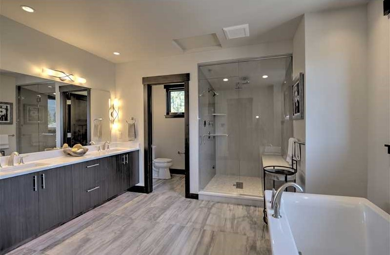 Here is the bathroom that won 'Best Master Suite' in Summit County Parade of Homes 2015.
