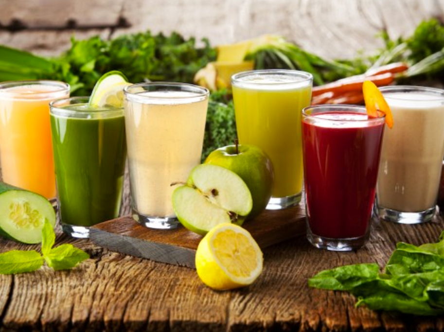I started out with a 3 day juice fast from Anna in the Raw.
