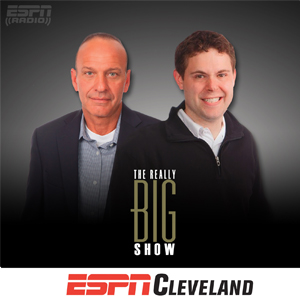 The Really Big Show  with Tony Rizzo, Aaron Goldhammer and Eric Williams airs weekdays from on 9am - 1pm ET on ESPN 850 WKNR in Cleveland.