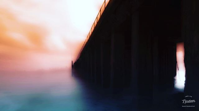 Because there's nothing more beautiful than the way the ocean refuses to stop kissing the shoreline, no matter how many times it's sent away. The result of a little camera shake during a long exposure of Moore Rd. Pier in Sausalito, California.
