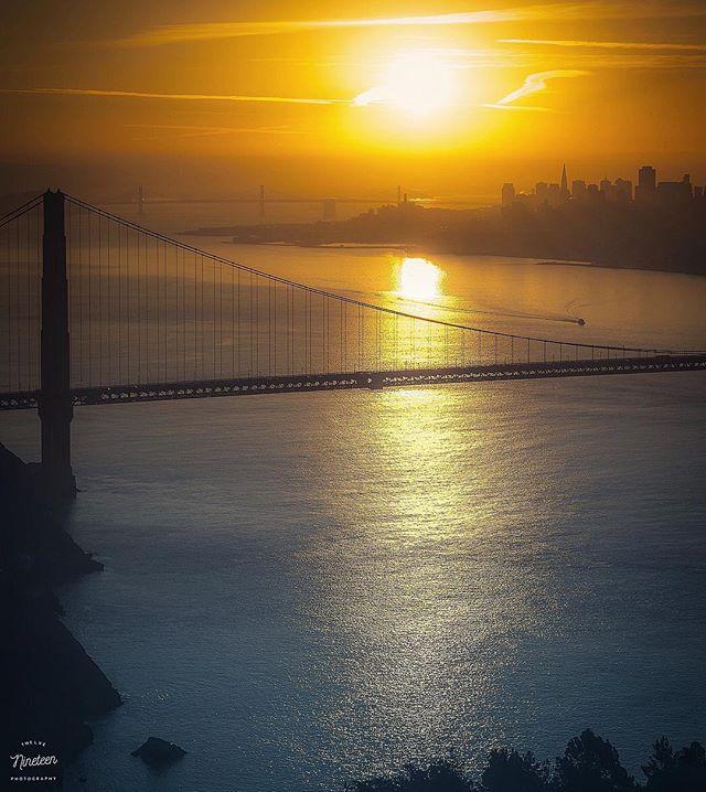 Sea • Air • Land . . . . #1219photography #sanfrancisco #marin #goldengatebridge #baybridge #pantax #sunrise #bayarea #yayarea