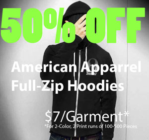Check out the deals we ae running on Hoodies this month!