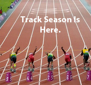 Track Season is here.  Click here to order track and field garments.
