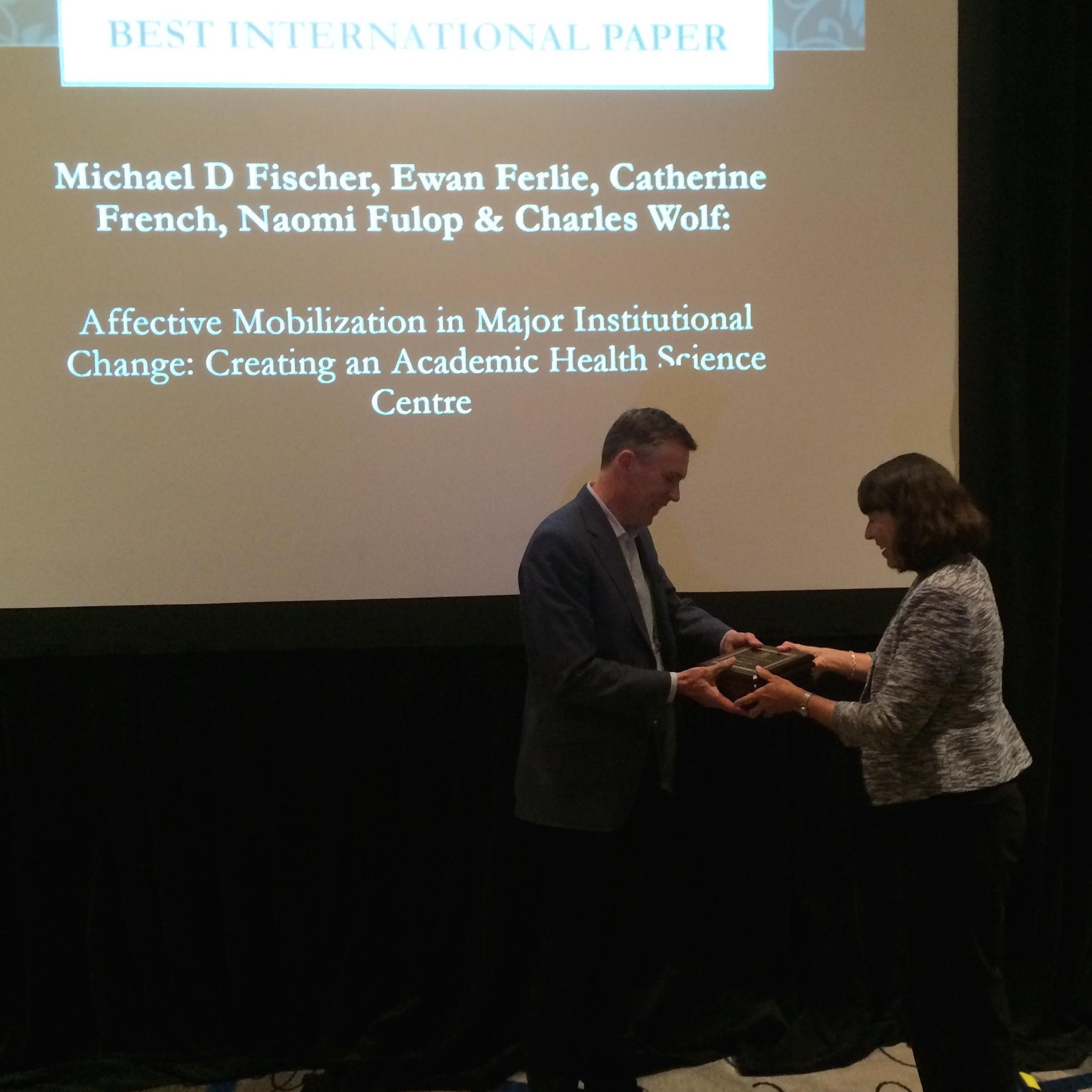 Best International Paper Award