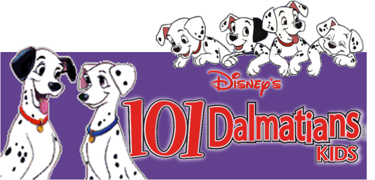 Based on the classic animated film,  Disney's 101 Dalmatians KIDS  is a fur-raising adventure featuring Cruella De Vil, Disney's most outrageous villain, and 101 of the most adorable heroes to set their paws onstage. With a high-spirited score and lovable characters, this stage adaptation is certain to charm and delight all audiences.  Pet owners, Roger and Anita, live happily in London with their Dalmatians, Pongo and Perdita, stalwart dogs devoted to raising their puppies. Everything is quiet until Anita's former classmate, the monstrous Cruella De Vil, plots to steal the puppies for her new fur coat. The Dalmatians rally all the dogs of London for a daring rescue of the puppies from Cruella and her bumbling henchmen.